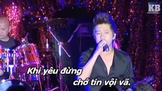 [Karaoke HD] Tôi Sẽ Không Yêu - Trần Tâm