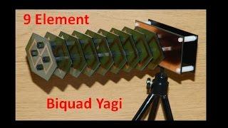 Long Range Biquad Yagi Antenna