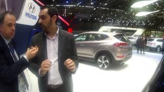 Hyundai Tucson New 2015 intervista Nicola Danza designer | Salone di Ginevra 2015