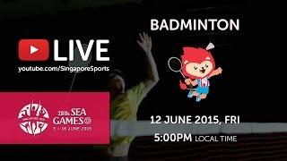Download Video Badminton Mens Team Finals (Day 7) | 28th SEA Games Singapore 2015 MP3 3GP MP4