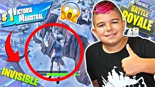 SKIN TO WIN IN THE 'ICE TORMENT' À FORTNITE!!! SOLITAIRE SUR PS4
