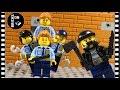Episode 2 Lego City Police Academy School Fail Brickfilm Stop Motion Animation Movie Horror
