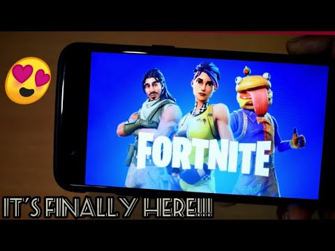 Install Fortnite on any android device. Finally!!!