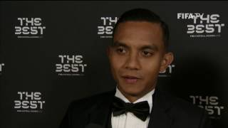MOHD FAIZ SUBRI - Post Award Reaction - THE BEST FIFA FOOTBALL AWARDS 2016