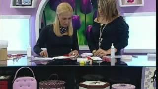 Patchwork Embutido no Eva – Caixa Love – Carmen Gracia