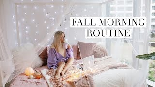 My Fall Morning Routine 🍂