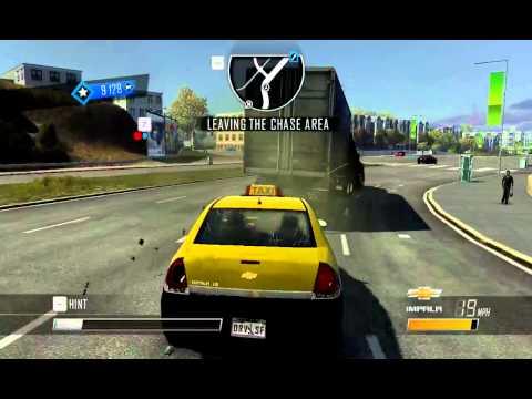 Мой самый любимый баг в игре Driver San Francisco....