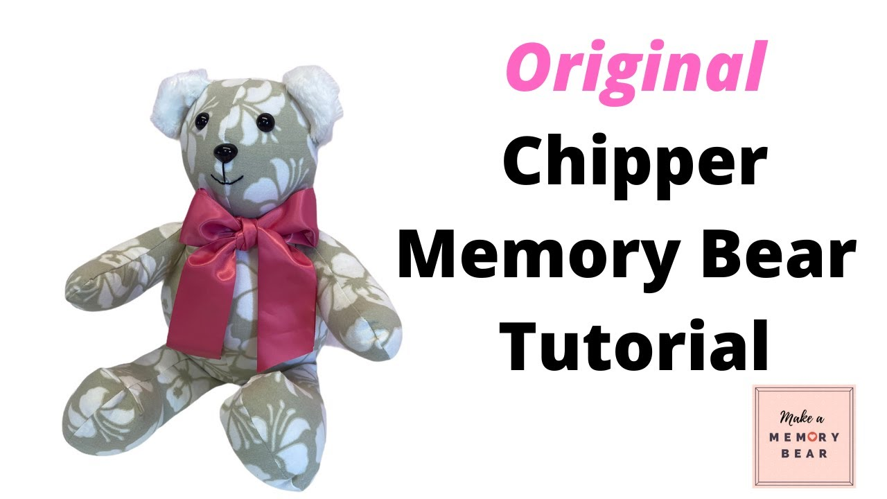 New Improved Memory Bear Tutorial Youtube