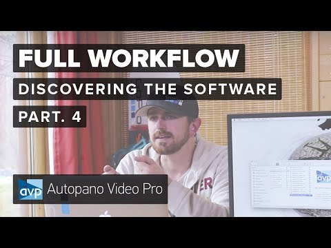 Part 4 - Discovering Kolor Software   The full 360 video creation workflow