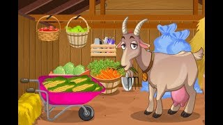 Goat Shed Cleaning -Cartoon for children -Best Kids Games -Best Baby Games -Best Video Kids