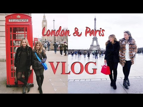 Paris + London TRAVEL Vlog