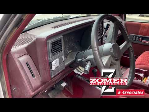 1993 Chevy 2500 Diesel Pickup--Sells June 25, 2019