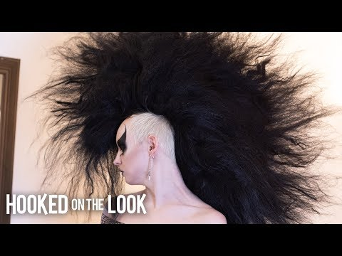 The Goth With The Monster Mohawk | HOOKED ON THE LOOK