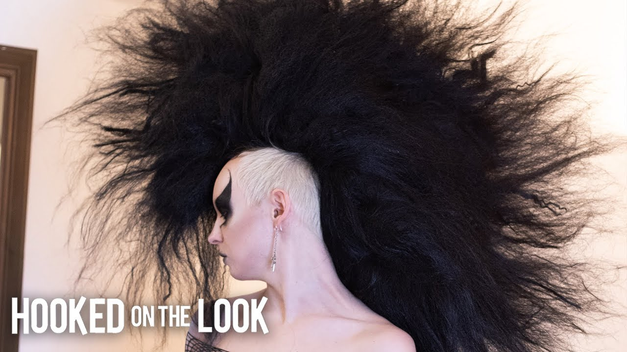 Download The Goth With The Monster Mohawk | HOOKED ON THE LOOK