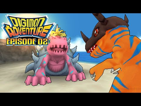 "Digimon Adventure - Ep 2: ""Explosive Evolution! Greymon"" [PSP/ENG]"