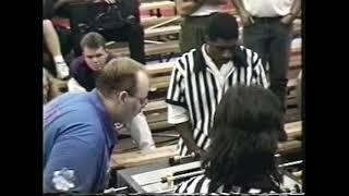 RAW: Tom Spear plays in 1994 foosball world championship
