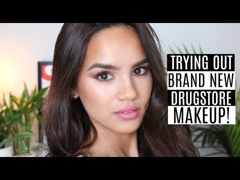 TESTING NEW DRUGSTORE MAKEUP!   Dacey Cash