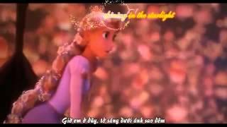 [ Vietsub + Kara ] I see the light -  Mandy Moore ft. Zachary Lev ( Tangled movie )