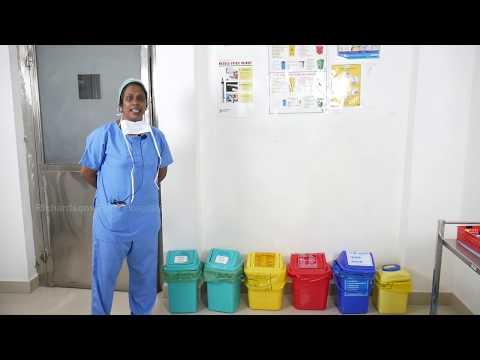 Biomedical Waste Management at Richardson's Hospital   Sister Sarah