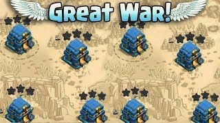 Great War Best TH12 War 3Star Attack Strategy 2018! Fair Play Clan War Attack TH12 | Clah Of Clans