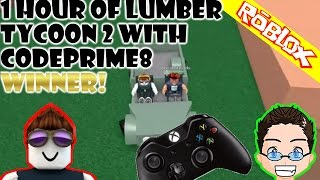 Roblox - Lumber Tycoon 2 - 1 Hour Game Play with CodePrime8 [Xbox One]