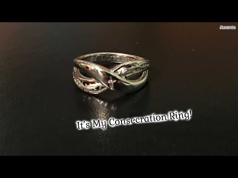 It's My Consecration Ring!! - My Ring for Consecrated Virginity