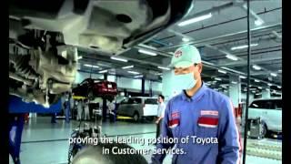Dịch vụ sau bán hàng của Toyota – Giá trị của sự tin cậy