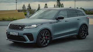 Боже, храни V8. Range Rover Velar SVAutobiography Dynamic