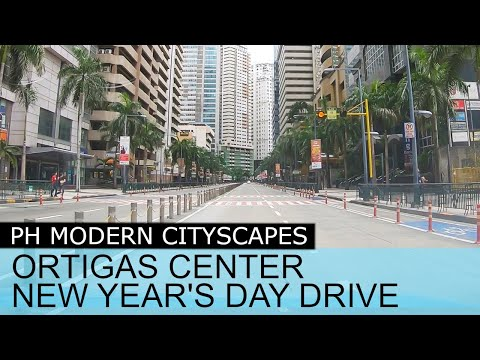 Ortigas Center New Year's Day 2020 Drive