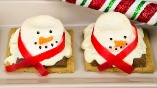 Melted Snowman Cookies: Melted Snowman S'mores From Cookies Cupcakes And Cardio