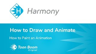 How to Paint an Animation Using Harmony