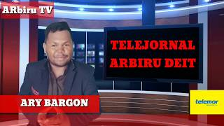 Download lagu TELEJORNAL ARBIRU DEIT ho Ary Bargon
