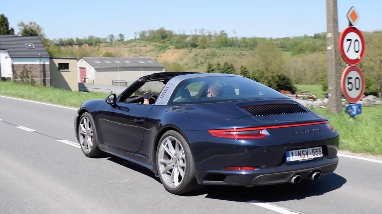 Porsche 911 2 Targa Amp Gt3 Hard Driving Sounds Youtube