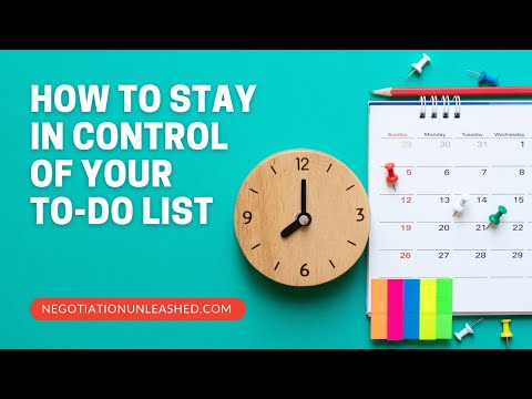 Time To Dust Off Your To-Do List