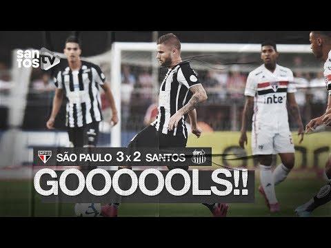 SÃO PAULO 3 X 2 SANTOS | GOLS | BRASILEIRÃO (10/08/19)