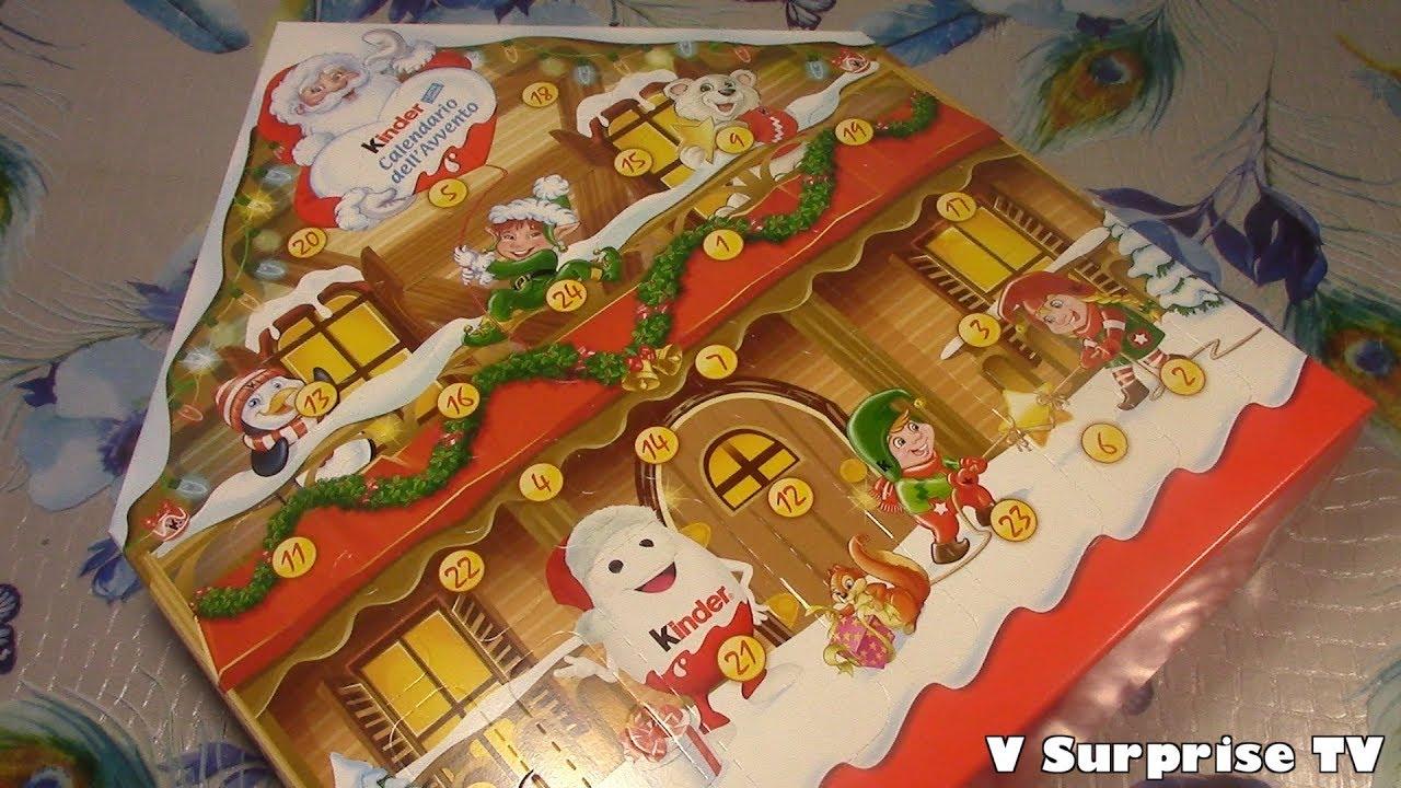Calendario Avvento Kinder.Christmas 2018 Kindereggs Advent Calendar 2018 Asmrtoys Huevos Ouevs Sorpresa V Surprisetv