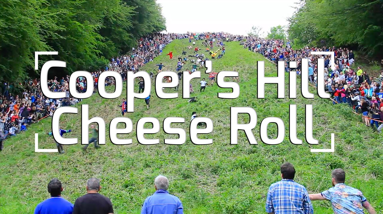 ac8cd2b367fdea Cooper s Hill Cheese Rolling Madness! - YouTube