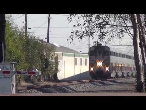 Amtrak 2003 is going through Sanleandro CA