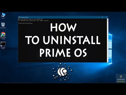 Download How To Uninstall Prime OS   Dual Boot Windows