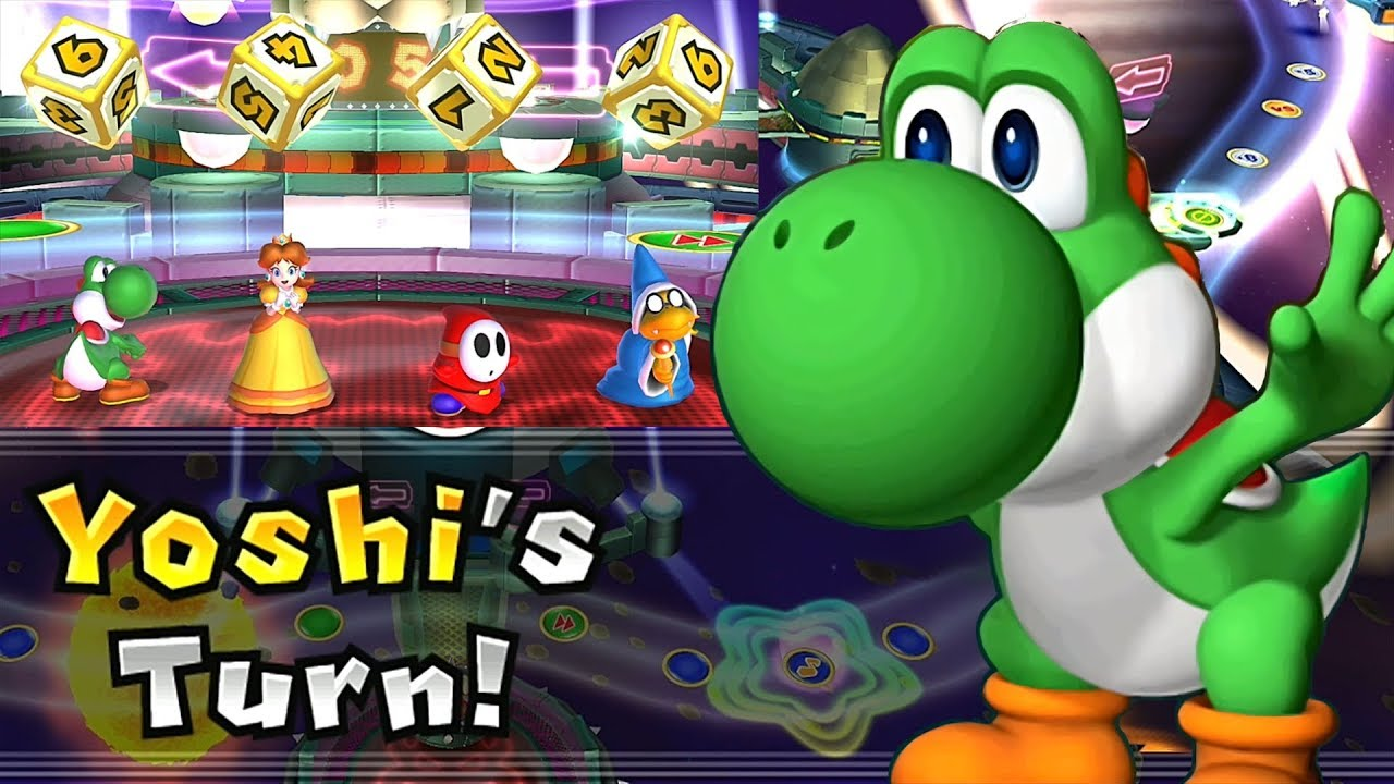 Mario Party 9 Solo Mode Yoshi Bowser Station Part 6 376 Youtube