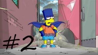 Les Simpson Le Jeu - épisode 2 : Bartman Begins | [Xbox 360] Let's play HD Français