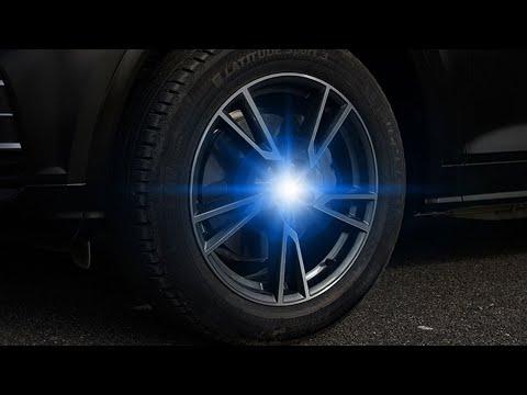 LED Floating Car Wheel Caps Installation Demo 2020