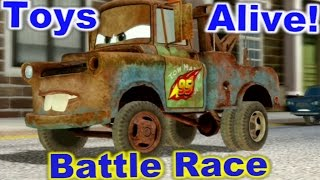 Cars 2: The video Game - Mater - Battle race on Buckingham Sprint.
