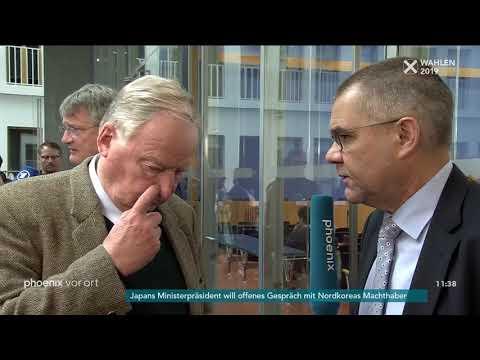 Alexander Gauland zu den Europawahl-Ergebnisse der AfD am 27.05.19