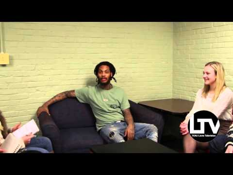 Waka Flocka Flame Interview at TCNJ 1/30/16