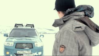 Видео блог №2 - Subaru Outback, Forester по полям, по снегам