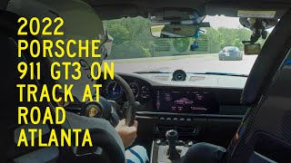 homepage tile video photo for 2022 Porsche 911 GT3 on Track at Road Atlanta