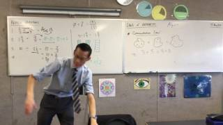 Laws of Arithmetic (2 of 3: The Commutative Law)