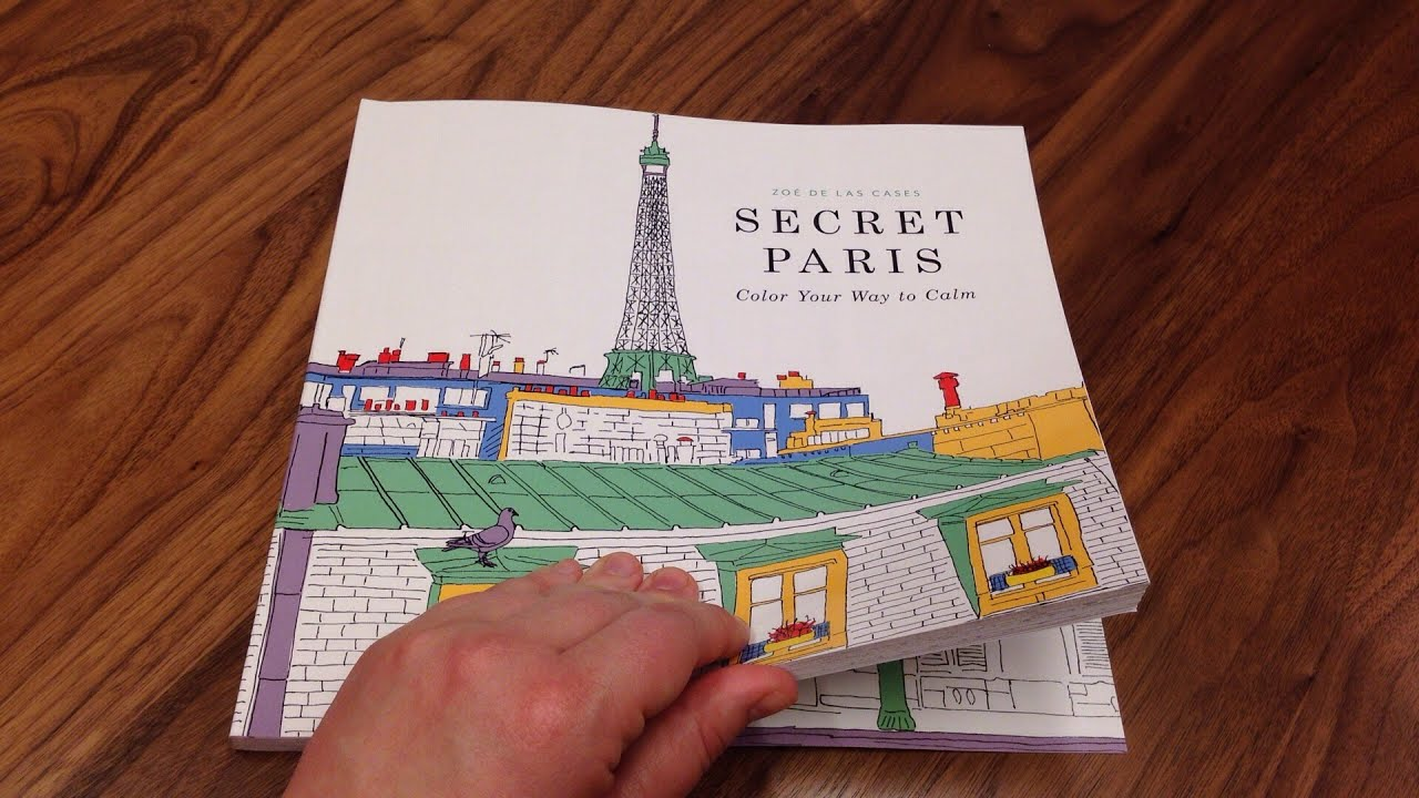 Flipping Through SECRET PARIS by Zoe de Las Cases - YouTube