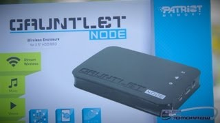 Patriot Memory Gauntlet Node Wireless Hard-drive Enclosure Unboxing